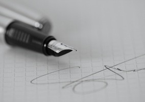 pen-signing